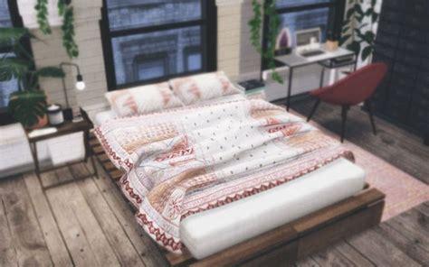 sims  ccs   random bed blanket   sveta nova sims  sims  bedroom sims