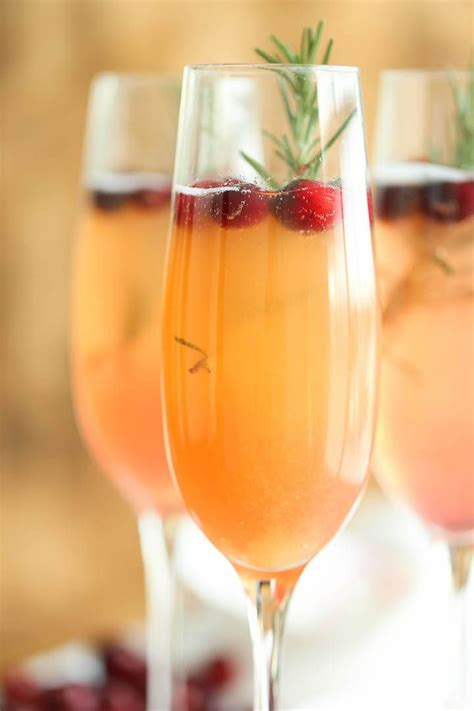 cranberry mimosa recipe winter christmas drinks and late nights