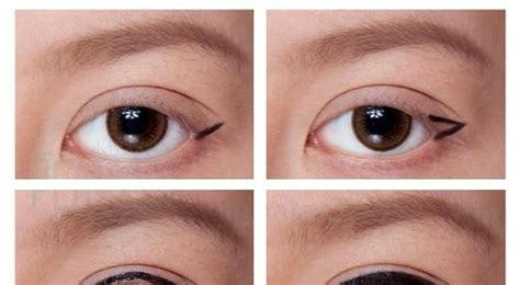 eyeliner tutorial round eyes makeup for small eyes round face life style by