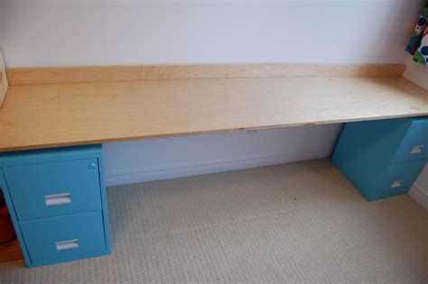 diy filing cabinet desk northstory