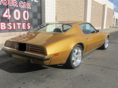 pontiac 455 stroker 1974 pontiac firebird 455ci v8 stroker turbo 350 auto