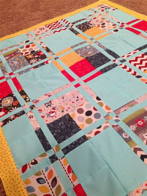 baby quilt made from missouri quilt company tutorial