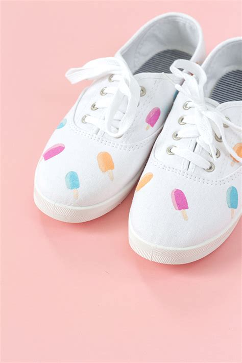diy canvas shoes diy painted popsicle canvas shoes dreamgreendiy