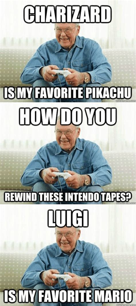 video game grandpa meme   weekend links video