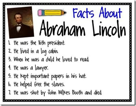 lincoln b day 55 best images about kindergarten president s day on
