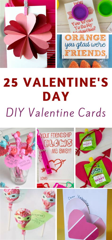 valentines day cards for to make 25 easy diy s day cards the frugal navy