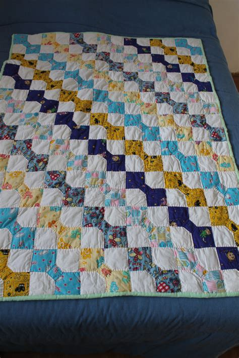 Quilt Tying Methods by Made Bow Tie Baby Quilt