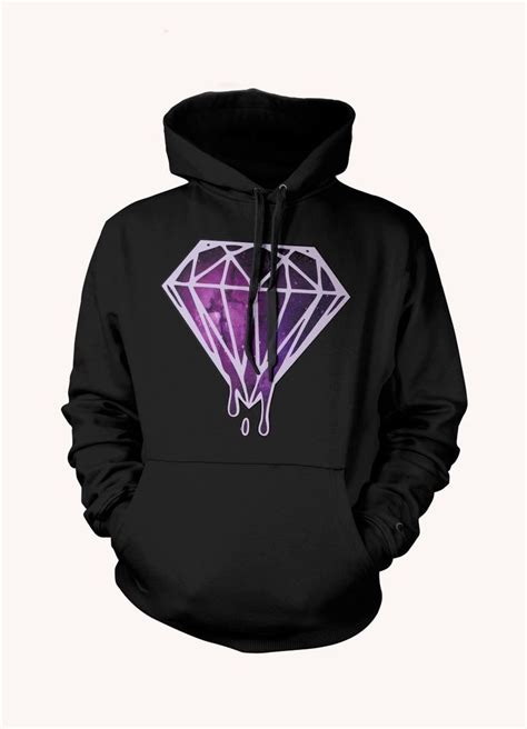 Hoodie One Diamend Clothing melting galaxy dope hoodie xo ymcmb tgod mac miller ebay