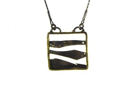 small silver necklace silver mountains delicate pendant
