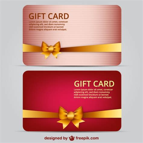 What You Want Gift Card Template by Gift Card Template Vector Free