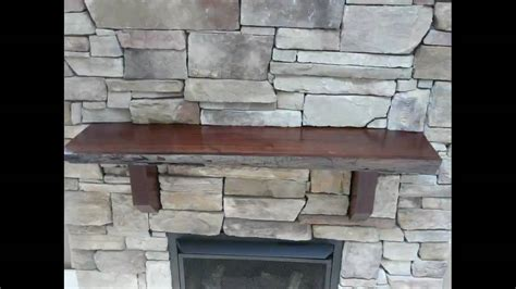 How To Make A Fireplace by Fireplace Black Walnut Mantle