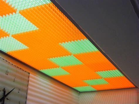 controsoffitto colorato fluorescenti archivi ppp prodotti poliplastici
