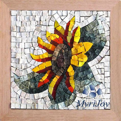 diy kits for adults mosaic tile kit for adults diy sunflower creative by myrijoy