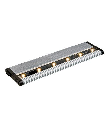 Kichler Light Pro Kichler Lighting Design Pro Led Modular 12inch Cabinet Bar Light In Brushed Nickel 12303ni