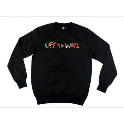 Sweater Vans The Wall vans the wall skate park sweater black