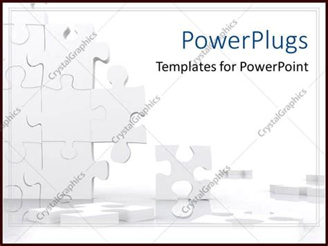powerpoint template piece of puzzle missing problem and powerpoint template missing puzzle pieces falling apart