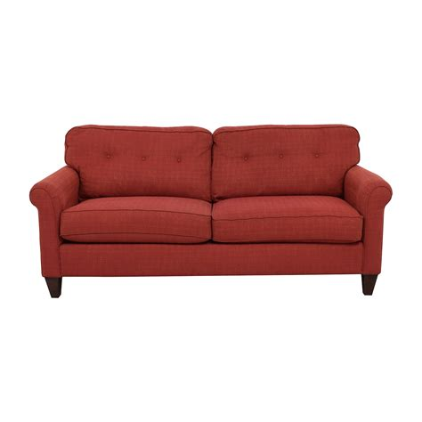 la z boy sofas 80 off la z boy la z boy laurel premier red sofa sofas