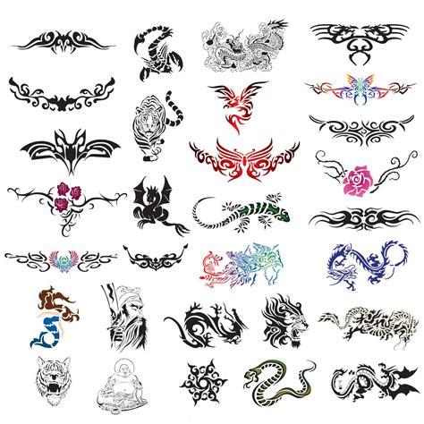 pattern temporary tattoo temporary tattoo airbrush design stencil patterns ebay