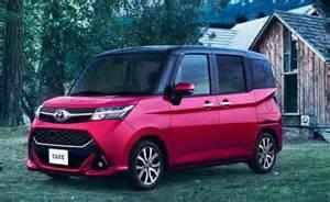 Toyota Minivan Toyota Roomy And Tank Minivans Specs Price Review
