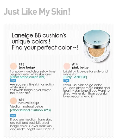 Laneige Bb Cushion Di Korea buy breezy bb cushion collection spf50 pa pore