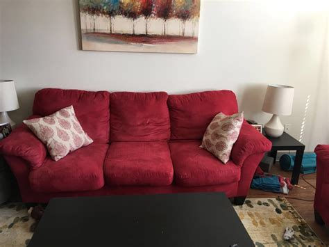 Comfy Highland In by Letgo Comfy Microfiber Sofa An In Highland Park Tx