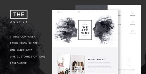 the agency v1 4 creative one page agency theme