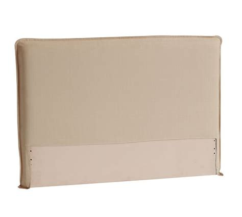 upholstered headboard pottery barn carissa upholstered headboard pottery barn