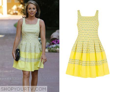 Gamis S Yari Marbella Dress towie season 12 episode 2 lydia s yellow dot dress shop