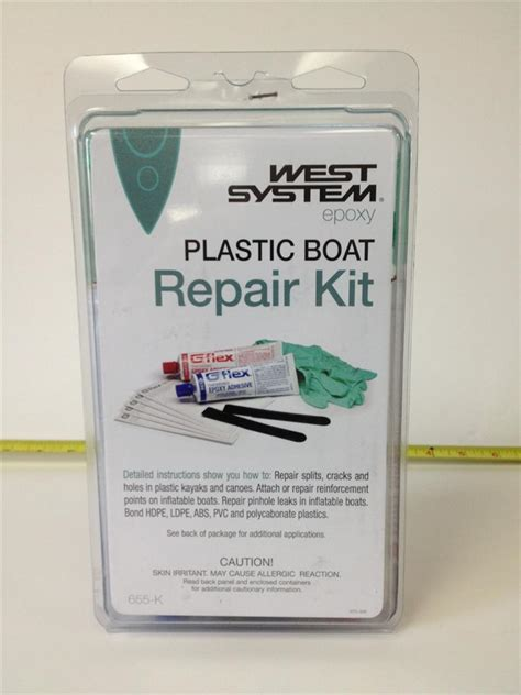 Cat Acrylic Epoxy west system g flex thickened epoxy plastic boat repair kit