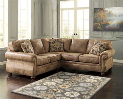 ashley furniture sectional sofas signature design by ashley living room larkinhurst earth