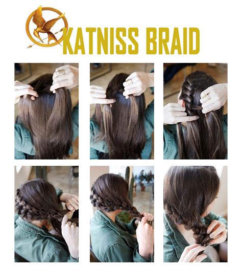 how to do a katniss braid step by step the edge salon are you hungry for the katniss braid