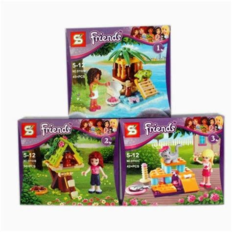 Mainan Lego Bela Friend 10131 mainan anak edukatif lego friends sy 151a c pet series