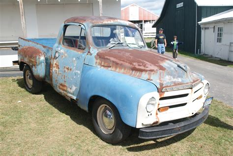 rusty pickup rusty truck on wealthy side of town flex your rights