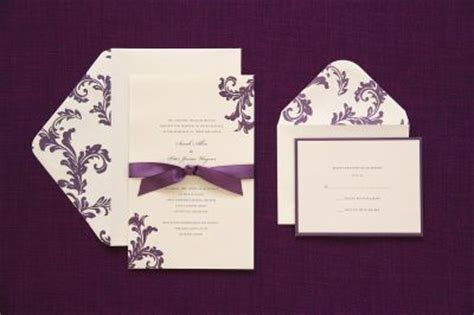 printable invitations michaels michaels com wedding department brides 174 purple