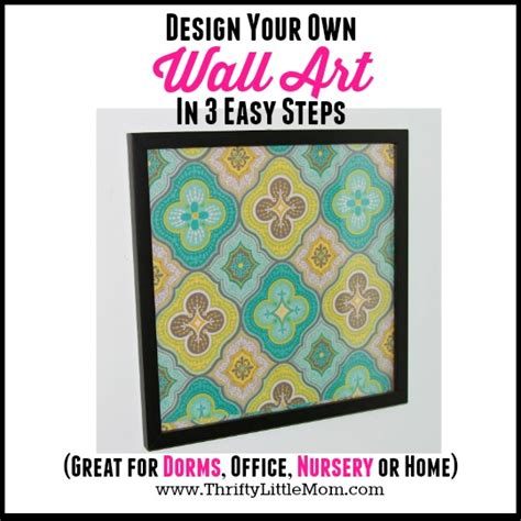 design your own instagram frame design your own wall art in 3 easy steps 187 thrifty little mom