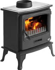 Tiger wood burning stove 5kw also suitable for multi fuel 6kw from the