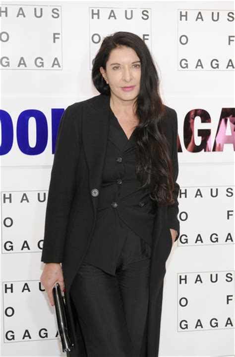 lade stile marina marina abramovic photos photos gaga presents