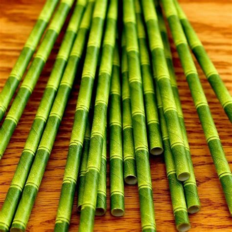 Bamboo Paper - bamboo paper straws