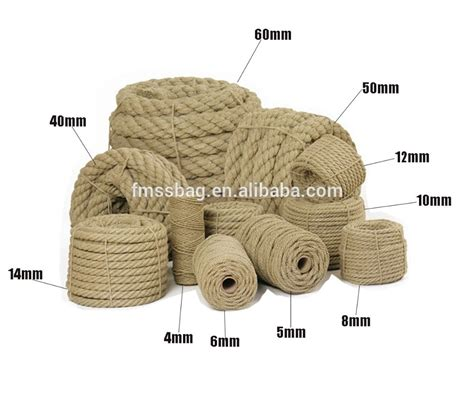 Hemp Rope Tali Rami promotion colored jute rope cheap jute rope for sale wholesale rope twisted buy colored jute