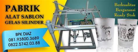 Alat Press Plastik Surabaya jual mesin sablon gelas plastik surabaya produsen mesin