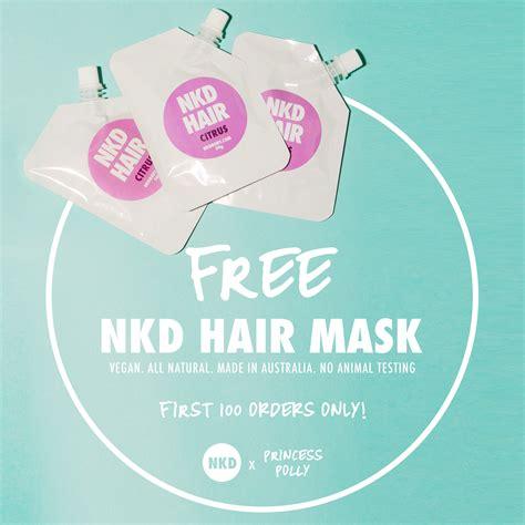 Gwp Alert Luxe Freebies From Eluxury by Getnkd Free Hair Mask 100 Orders Only