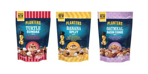 Planters Peanuts Flavors by Planters Newest Peanut Flavors Are Replacing Your Dessert