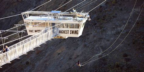 nevis swing video nevis swing world s biggest swing queenstown