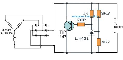 resistor voltage output motorcycle wave shunt regulator circuit