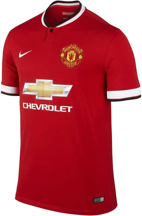manchester united 14 15 home away and third kits footy