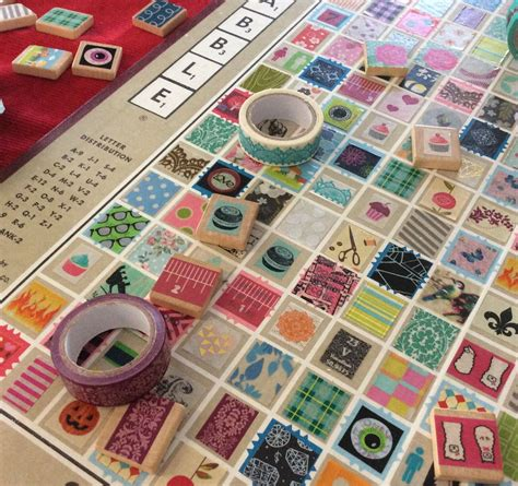 cheap scrabble board recycled craft turn your scrabble board into