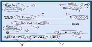 how to write a check accounting financial services