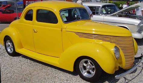 38 ford standard coupe cars