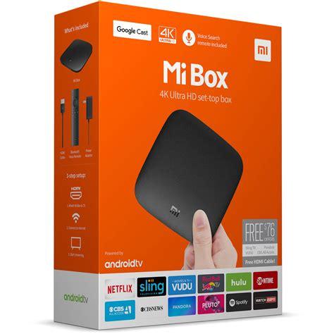 new xiaomi mi box 4k ultra hd android tv media streamer box caja tv
