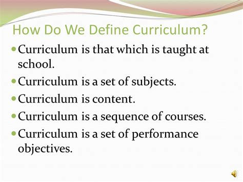 theme curriculum definition curriculum 101 dr carol fabrey ppt video online download